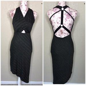 Free people asymmetric backless dress